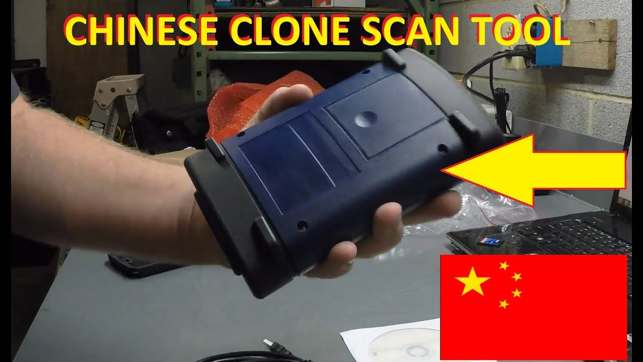 Chinese GM MDI Tool unboxing!Chinese Knock off Scan Tool!