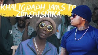 "Gambar cover Khaligraph Jones jams to ""Zimenishika"" by Zzero sufuri"