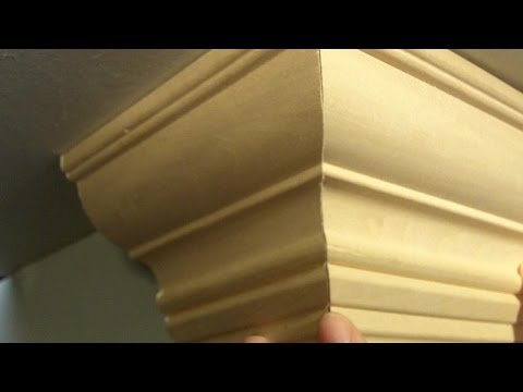 How to Cut Crown Molding Outside Corners for Beginners