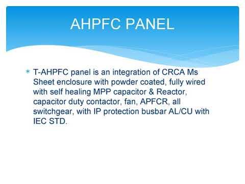 AHPFC Panels, AHPFC Panel, Manufacturer, Exporter, Supplier, Importer, India