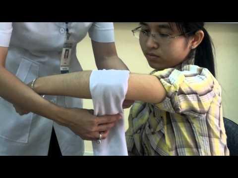 Sơ cứu vết thương đoạn thẳng chi, khuỷu tay