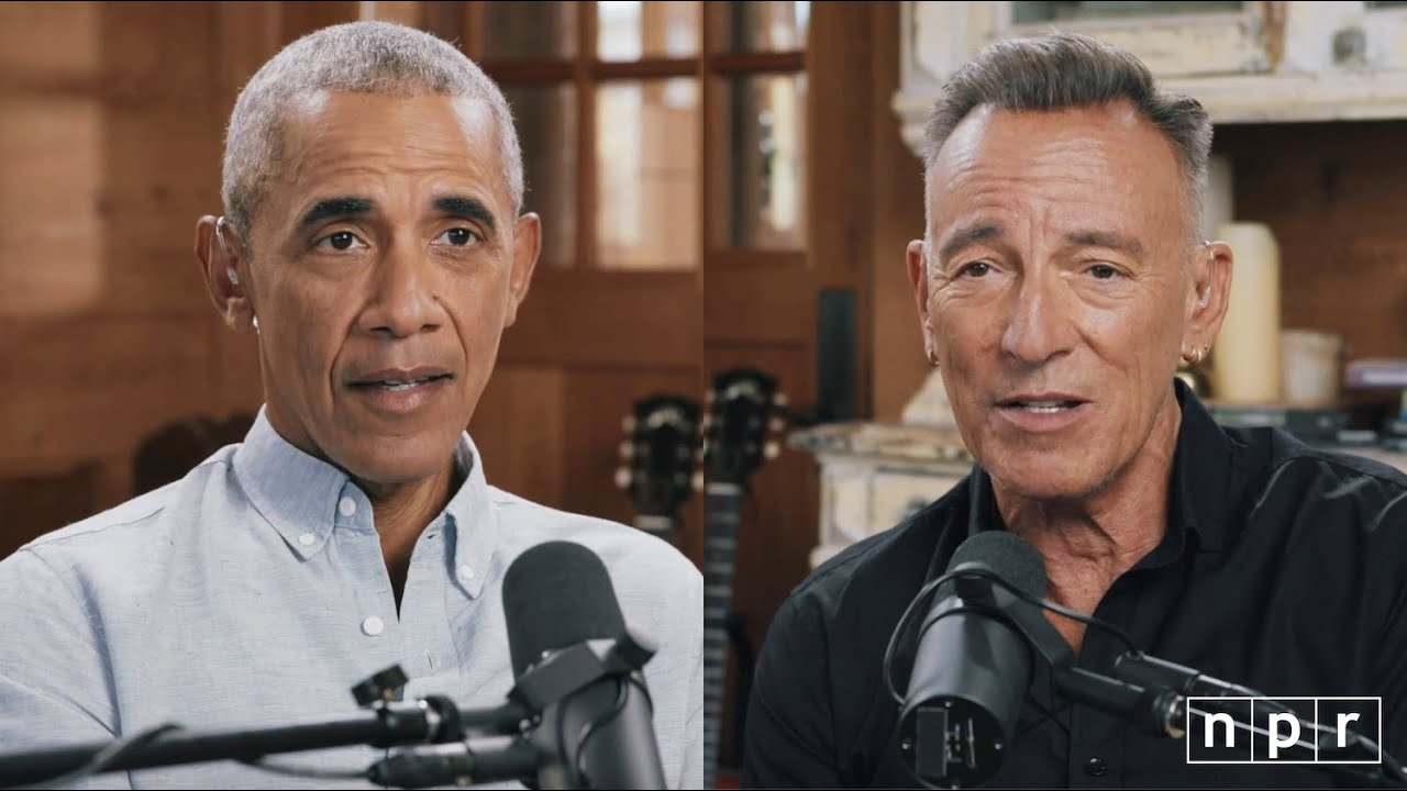 "Barack Obama, Bruce Springsteen's new book ""Renegades"" out"