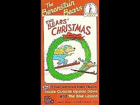 Opening & Closing To The Bears Christmas 1990 VHS - YouTube
