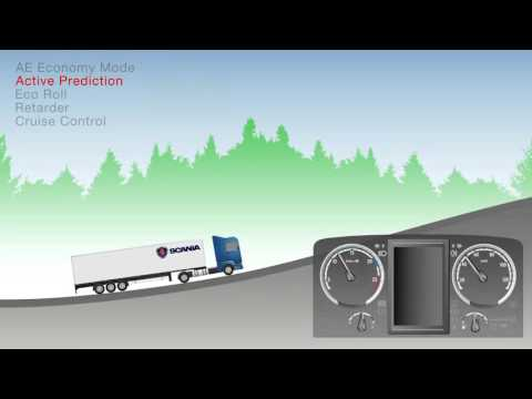 Scania Driver Controls - Fuel Saving Technology