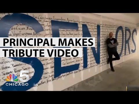 Vernon Hills High School Principal Creates Video Tribute to Graduating Seniors   NBC Chicago