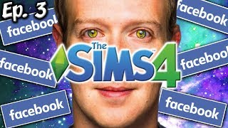 Robot Zuckerberg Has Arrived | The Sims 4: Memes Theme | Ep. 3