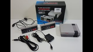 Imitation NES Classic Edition Game System With 620 Games Review