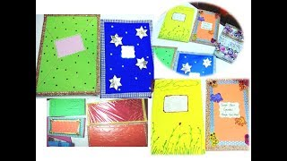 How to decorate project files/ registers/notebooks / Cover page decoration