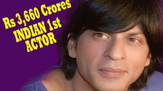 """Shahrukh Khan"" Enters List Of Richest Indians 