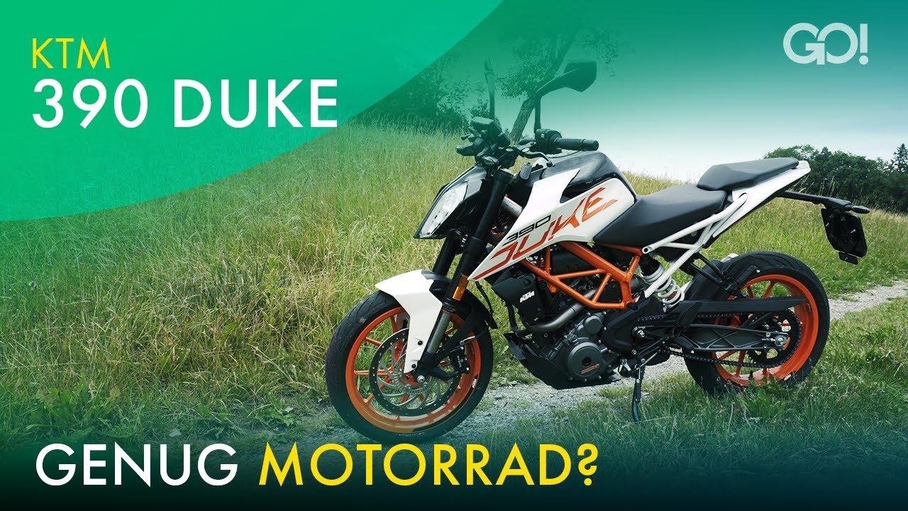 Aller Anfang ist leicht  - KTM 390 Duke (2020)