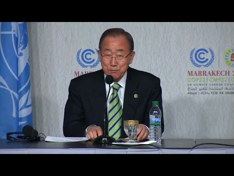 "UN chief ""hopes"" Trump will understand urgency of climate change"