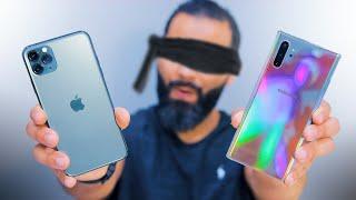 مقارنة الكاميرات العمياء | iPhone 11 Pro Max ضد Note 10 Plus | من الأفضل ؟