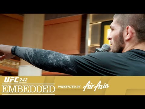 UFC 242 Embedded: Vlog Series - Episode 4