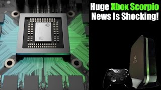 Microsoft Shares Shocking & Exciting Xbox Scorpio News!