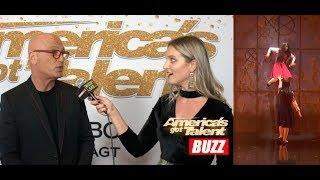 Howie Mandel Explains Sacred Riana's QF Performance Ending | AGT BACKSTAGE