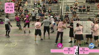Roller Derby: 2012 North Central Region Playoffs - Arch Rival vs. Madison