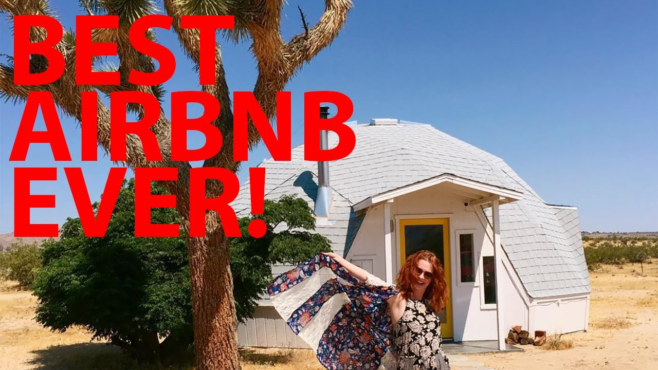 The Coolest Airbnb Ever In Joshua Tree Youtube