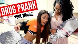 COCAINE PRANK ON MOM GONE VIOLENT!!! 😱😂 she kicks me out!