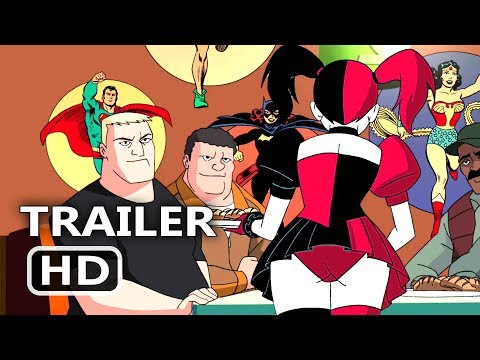 Batman And Harley Quinn Official Trailer (2017) Animation, Superhero New Movie HD