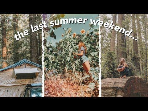 The Last Summer Weekend Before Junior Year....