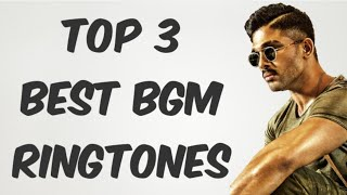 Top 3 Best BGM Ringtones By TECH TUBE
