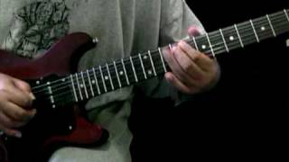 UFO  Rock Bottom - Michael Schenker - Guitar Cover Lesson