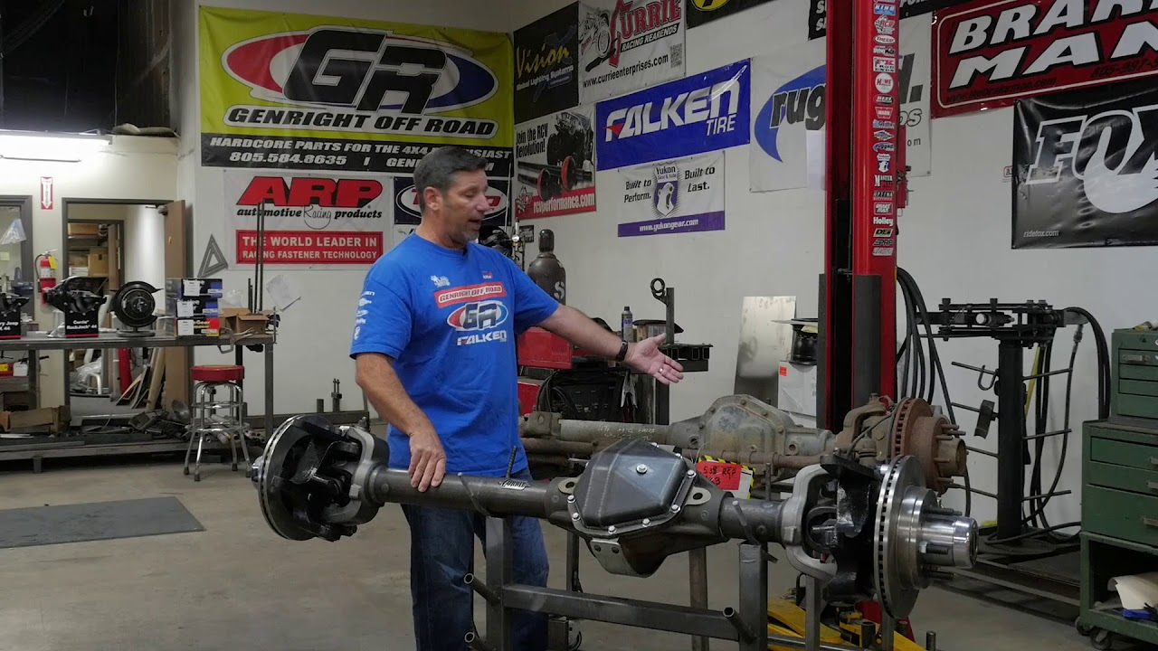 Pros and Cons to Building Junkyard Axles | GenRight Off Road