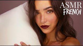ASMR Français | Traitement Doux Pour Ton Sommeil (Massage cranien, brosse, lotion, décompte..)