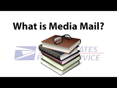 What Is Media Mail USPS - YouTube