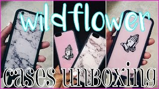 Wildflower Cases Unboxing // HelloKeyy