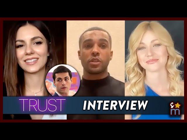 Victoria Justice & Kat McNamara Talk TRUST, Reuniting w/ Matthew Daddario & More | Interview