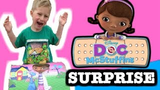 "Doc Mcstuffins ""big Surprise Treasure Chest"" With Surprise Eggs, Surprise Toys + Sheriff Callie"