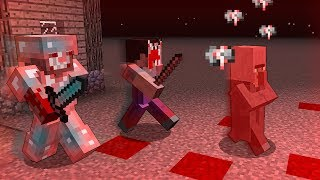 Noob VS Pro BECAME MONSTERS in Minecraft!