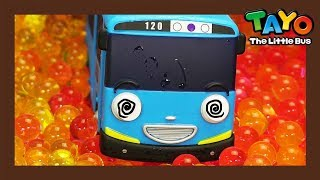 Frog bubbles attack buses! l Tayo Super Rescue Team l Tayo the Little Bus