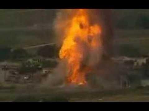 Dallas, Texas acetylene tanks explode