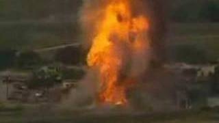 Dallas, Texas acetylene tanks explode