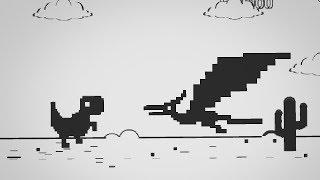 T-Rex Chrome Game 2 🦖 | Chrome Minigame by Deimer29 | SirKaelGD
