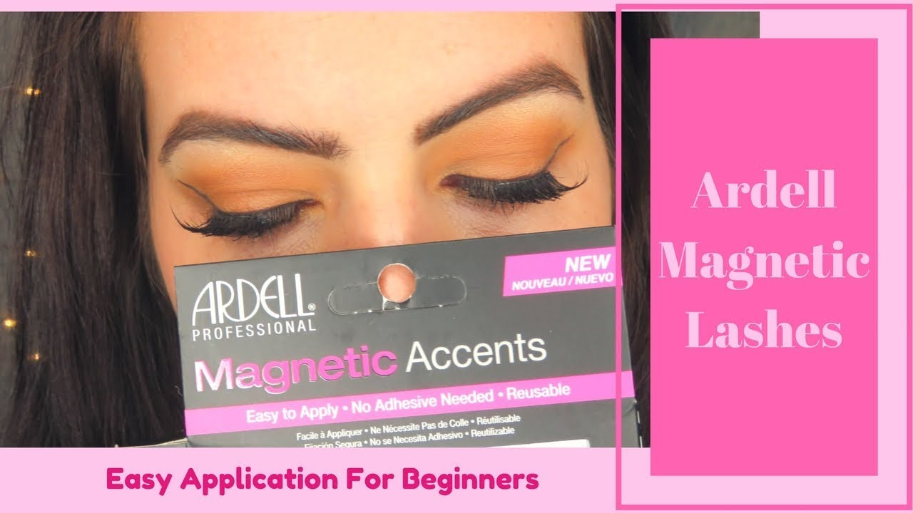 9fbe3dfe8d1 Ardell Magnetic Lashes | Easy Application For Beginners - YouTube