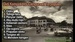 Didi Kempot Hits Campursari Terpopuler - Tembang Kenangan Campursari Nostalgia