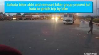 Repeat youtube video Kolkata to giridih tour trailar | by cbr royal enfield and more