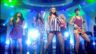 The Saturdays ALL FIRED UP live at this morning tv show - 31.08.2011
