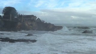 The Old Pacific lashing at California - Dec. 11, 2014.