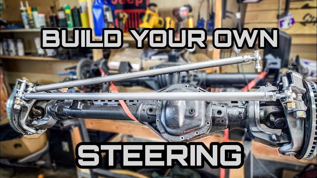 Build Your Own Heavy Duty Steering - JK 1 Ton Swap Video Series