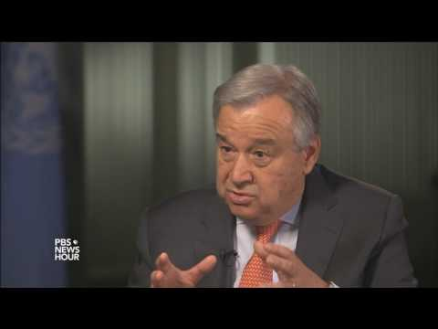 U.N. head: Security Council's division on Syria has led to 'paralysis'