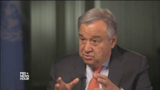 United Nations head: Security Council