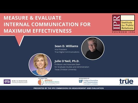 IPR Webinar | Measure And Evaluate Internal Communication For Maximum Effectiveness