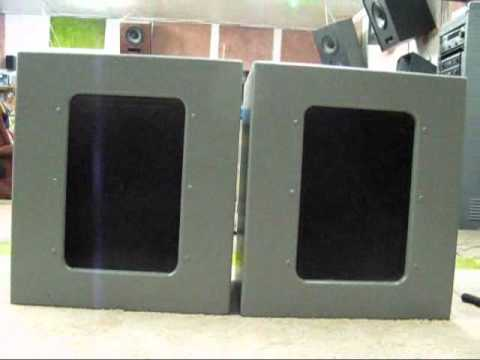 Altec Iconic 612 Utility Cabinet Altec 604C - YouTube