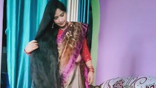 MRD long hair dubal big braids from indian woman