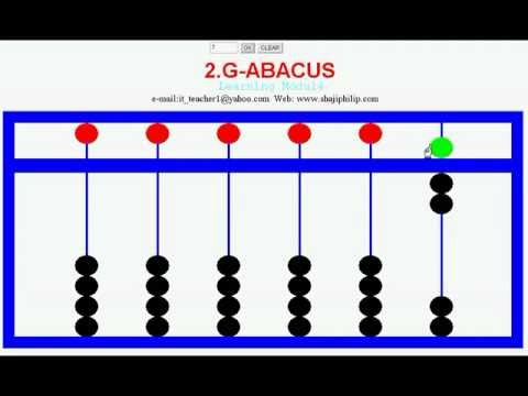 how to add with abacus