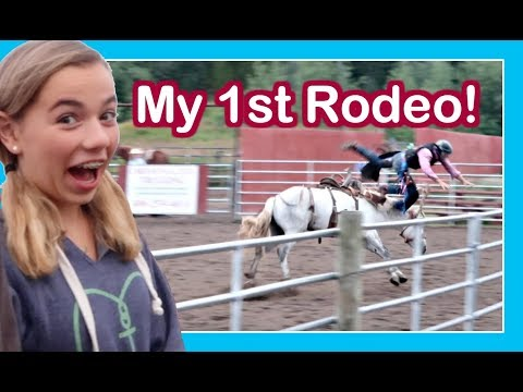 IF YOU'VE NEVER BEEN TO A RODEO... WATCH THIS! | A WESTERN 🚐 RV ADVENTURE | Flippin' Katie